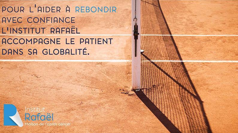 Un jour, une association : Institut Rafaël association invitée de Roland-Garros