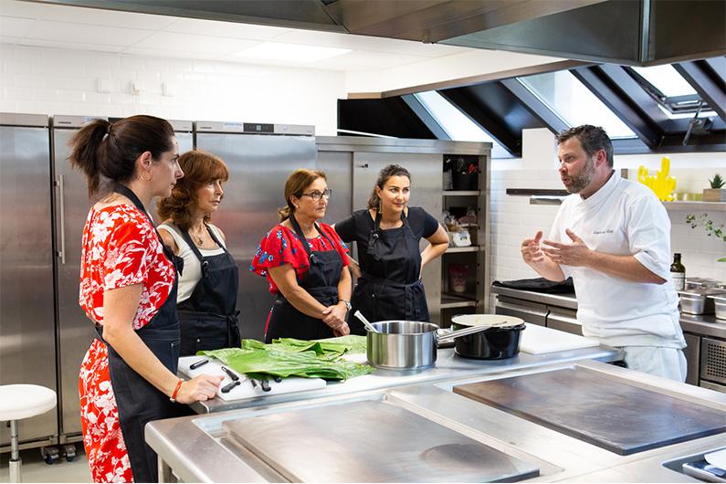 Atelier cuisine avec le Chef Stéphane Colé