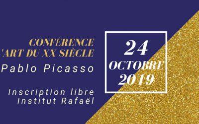 Conférence l'art du XXème siècle – Inscription Gratuite 24/10/2019