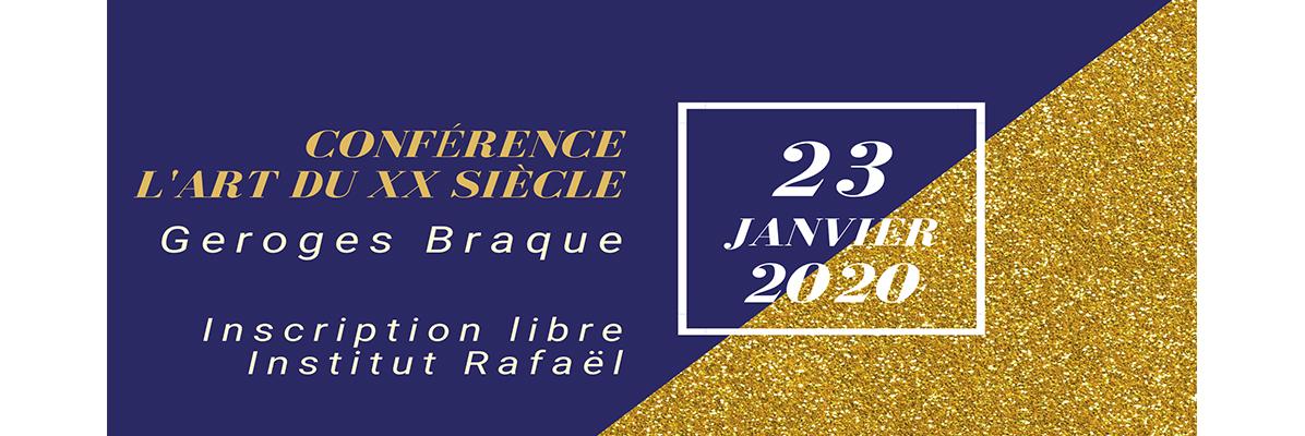 Conférence Georges Braque