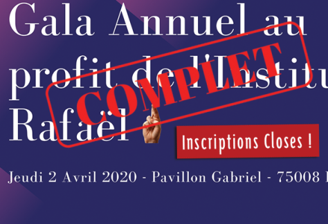 inscriptions closes gala