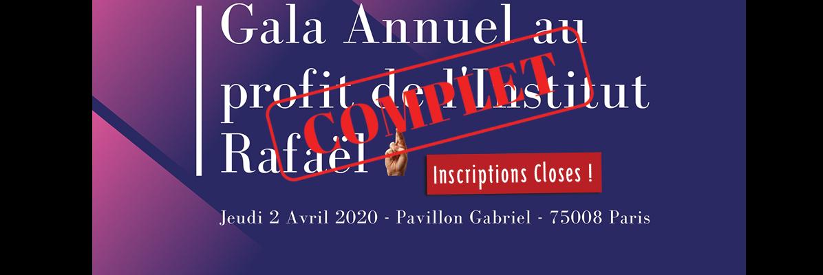 inscriptions closes gala