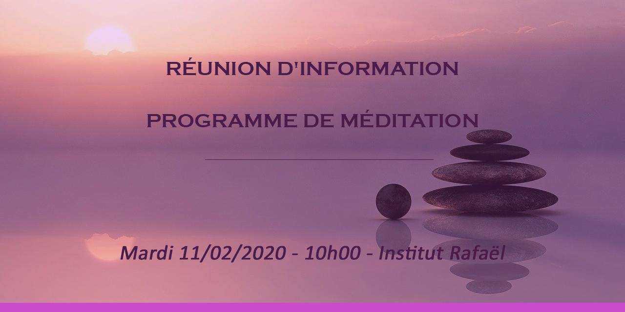 réunion méditation