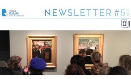 Newsletter Institut Rafaël #05 – Février 2020