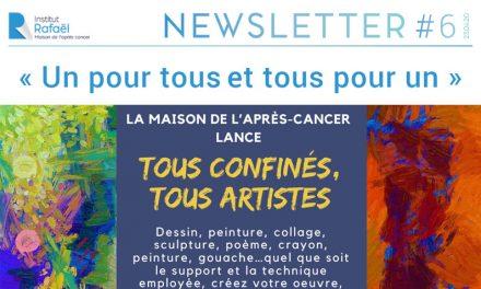 Newsletter Institut Rafaël #06 – Avril 2020