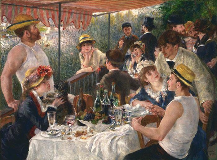 Pierre Auguste RENOIR – Le Déjeuner des canotiers