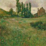 Paul Gauguin  – Chiens courant dans un pré