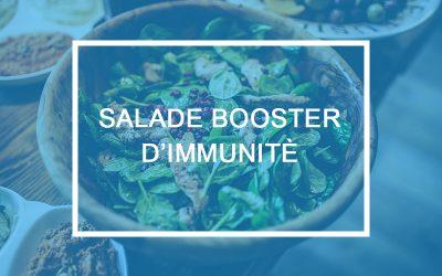 Vidéo Nutrition – Tutoriel salade booster d'immunité
