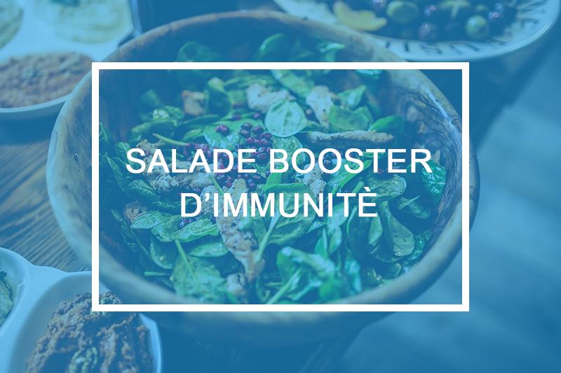 salade booster immunité