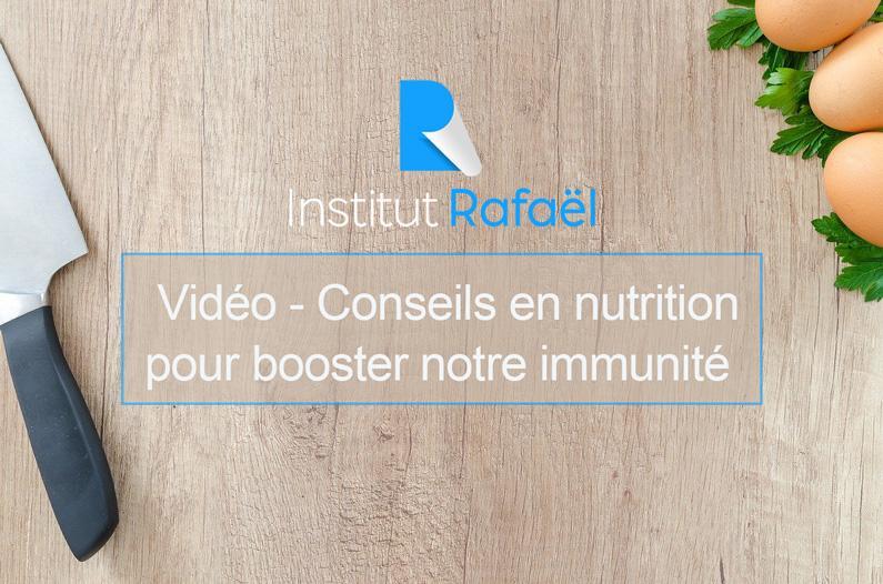 vidéo nutrition immunité