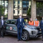 Plan après COVID-19 : Land Rover France soutient la Croix-Rouge des hauts de seine et l'Institut Rafaël