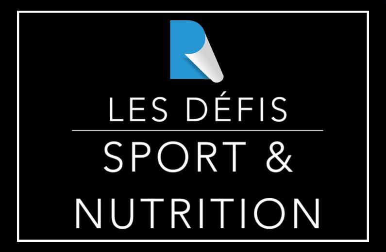 Programme sport et nutrition