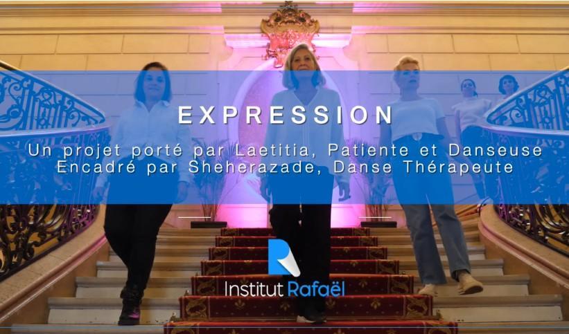 « EXPRESSION », Un projet Danse Patient-Patients
