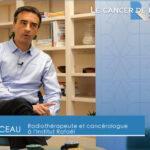 Movember, Charlotte reçoit le Docteur Olivier BAUDUCEAU et Dogan patient de l'institut Rafaël