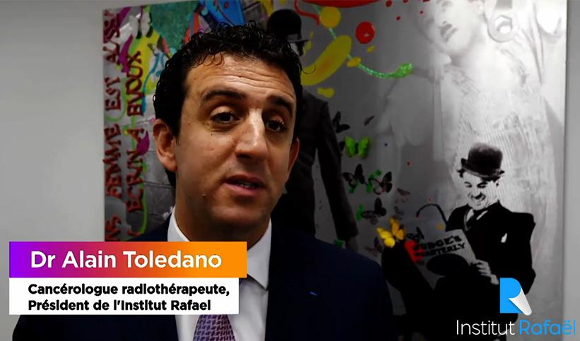 Le Dr Toledano présente l'Institut Rafaël ou symposium DOCAPOSTE