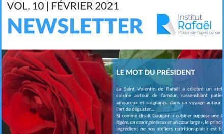 Newsletter Institut Rafaël #10 – Février 2021