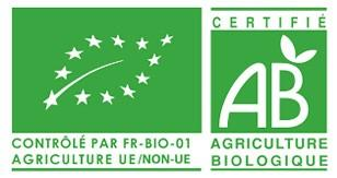 Logo agriculture biologique, eurofeuille