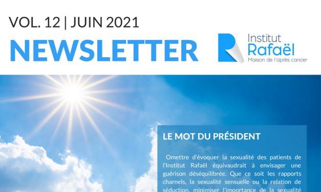 Newsletter Institut Rafaël #12 – Juin 2021