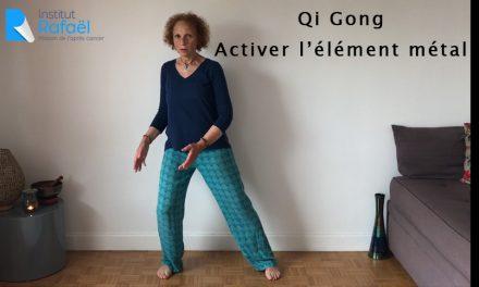 Séance de Qi Gong pour activer l'élément métal